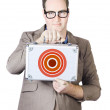 Case target — Stock Photo