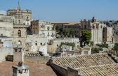 Panoramic view of Matera, Basilicata, Italy Town in the rock — Stock Photo