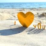 "Phrase ""I love you"" — Stock Photo #27222151"
