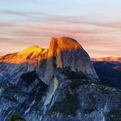 Sunset from Glacier Point — Stockfoto