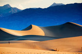 Sand Dunes in the Death Valley National Park — Stock Photo
