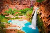 Mooney Falls, Havasupai Indian Reservation — Stock Photo