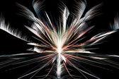 фон фантазии фейерверков — Стоковое фото