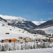 Gerlos austria in the winter — Stock Photo