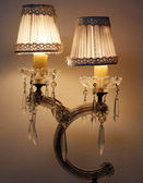 старые или антикварные и винтажные или ретро лампа — Стоковое фото