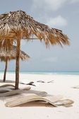 Relax at the beautiful caribbean sea — Stock Photo