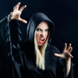 Woman in gothic halloween style — Stock Photo #29958047