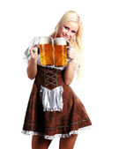 Tiroler woman — Stock Photo