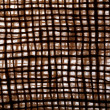 Texture old canvas jute fabric background — Stock Photo