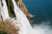 Waterfall antalya turkey — Stock Photo