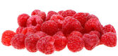 Closeup of delicious red raspberry — Stock Photo