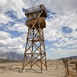 Historic Guard Tower at Manzanar National Historic Park — Stock Photo