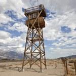 Historic Guard Tower at Manzanar National Historic Park — Stock Photo
