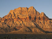 Warm Sunrise at Red Rock Nevada — Stock Photo