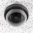 Overhead Security Camera Globe - Stock Photo