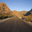 Nevada Desert Highway — Stockfoto
