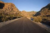 Route du désert de nevada — Photo