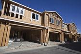 Multi Family Housing Construction Framing — Stock Photo