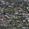 Stock Photo: SantBarbarCaliforniHillside Homes