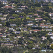 Santa Barbara California Hillside Homes — Stock Photo