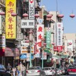 Stock Photo: SFrancisco Chinatown Editorial Street View