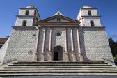 Historic Santa Barbara Mission — Stock Photo