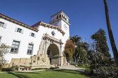 圣塔芭芭拉加利福尼亚历史法院 — 图库照片