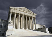 Supreme Court Washington DC Storm — Stock Photo