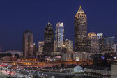 Atlanta Midtown Dusk — Stock Photo