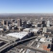 Albuquerque New Mexico Downtown Aerial — Stock Photo