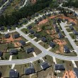 Stock Photo: SuburbStreets Aerial