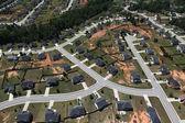 Suburban Streets Aerial — Stock Photo