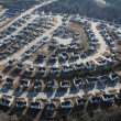 Suburban Sprawl — Stock Photo