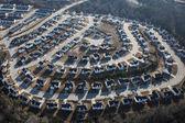Sprawl suburbano — Foto Stock