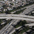LA Freeway Interchange — Stock Photo