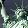 Statue of Liberty Isoalted on White — Foto de Stock