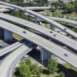 Stock Photo: Freeway Aerial