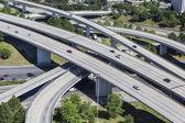 Autobahn antenne — Stockfoto