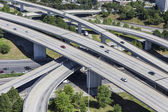 Freeway Aerial — Stock Photo