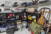 Vintage Garage Sale Corner — Stock Photo