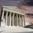 Supreme Court Washington DC Dawn Sky - Stock Photo