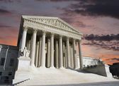 Supreme Court Washington DC Dawn Sky — Stock Photo