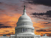 United States Capitol Sunrise — Stock Photo