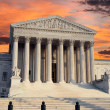 Supreme Court Sunrise — Stock Photo