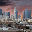 Los Angeles Downtown Sunset — Stock Photo #28581611