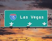Interstate 15 to Las Vegas, Nevada — Stock Photo