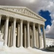 US Supreme Court Moving Clouds — Stock Video
