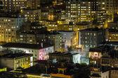 Chinatown nacht san francisco — Stockfoto