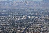 Downtown Las Vegas Editorial Aerial — Stock Photo
