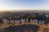 Hollywood Sign Sunrise — Stock Photo